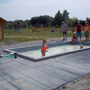 Zwembad realisatie - Kelder.nl